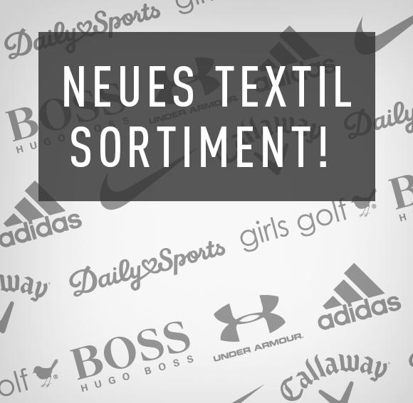 Neues Textil Sortiment