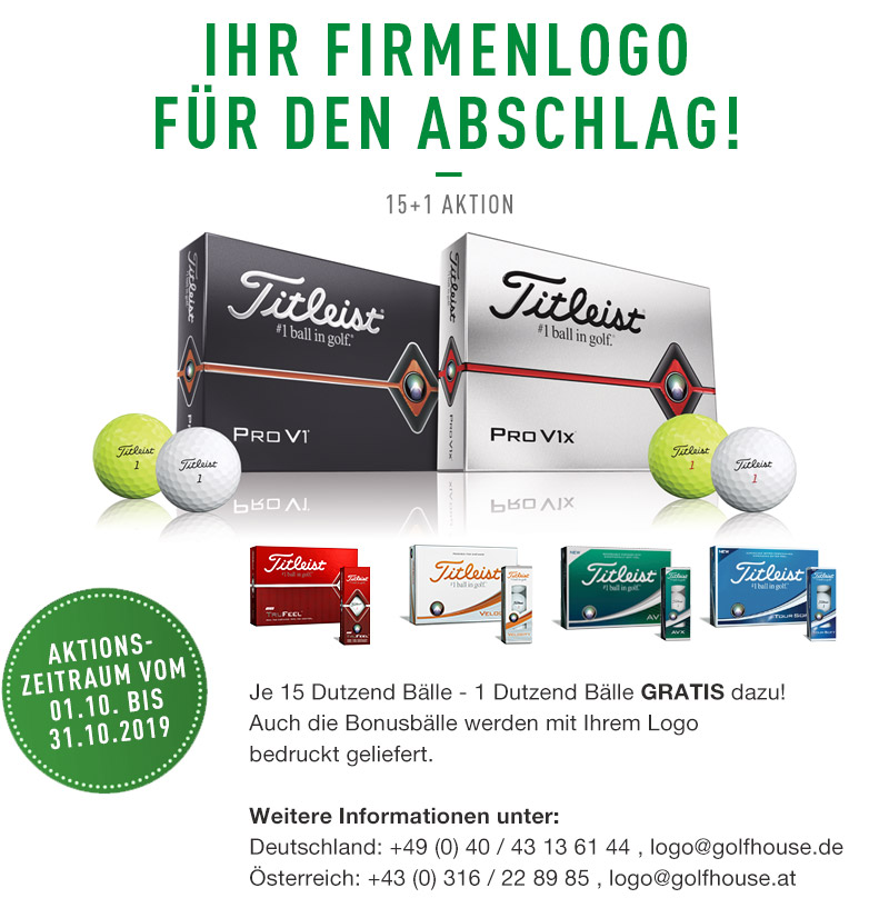 Titleist Ballaktion